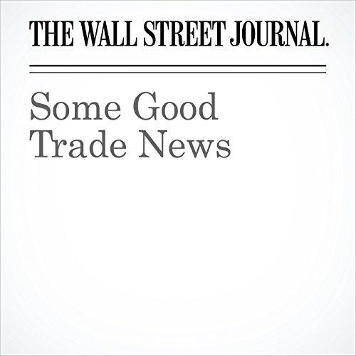 Some Good Trade News copertina