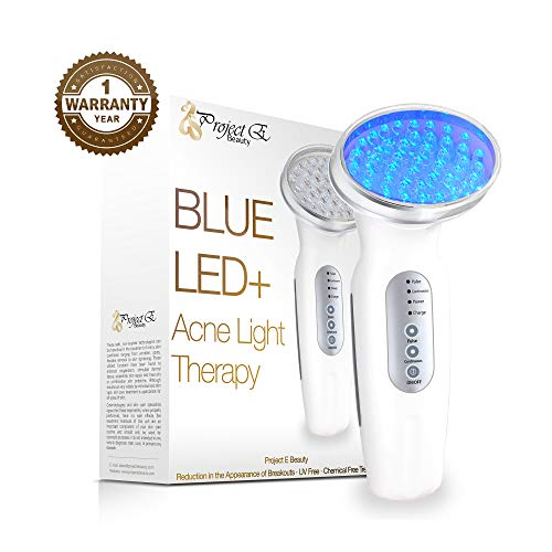 Project E Beauty Light Photon LED Therapy Improve Sensitive Skin Rechargeable Beauty Device