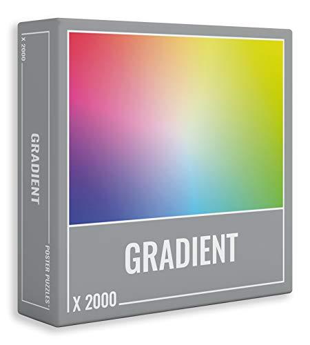 Cloudberries- Poster Puzzle Gradient 2000 Puzle, Multicolor (3020)