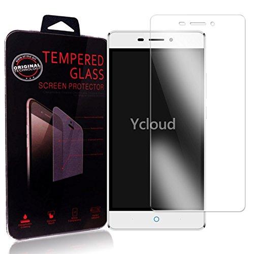 Ycloud Panzerglas Folie Schutzfolie Bildschirmschutzfolie für ZTE Blade V580 screen protector mit Festigkeitgrad 9H, 0,26mm Ultra-Dünn, Abger&ete Kanten