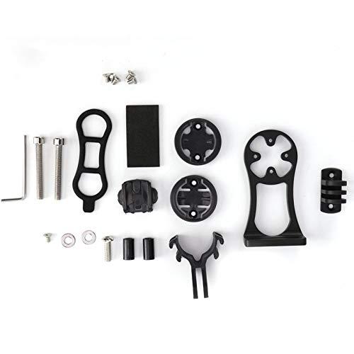 Germerse Soporte de expansión para odómetro de Bicicleta, Soporte de extensión para computadora de Bicicleta a Prueba de óxido de aleación de Aluminio, Soporte para computadora de Bicicleta para