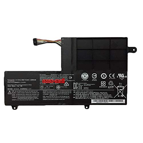 szhyon 7.6V 45Wh Original L15C2PB1 5B10K84491 Laptop Battery compatible with Lenovo Yoga 510 510-14IKB 510-15IKB 510-15ISK 510-14ISK