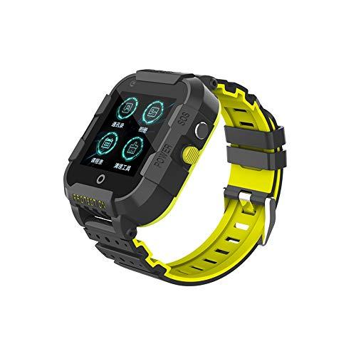 LHTCZZB Video Intercom Pulsera inteligente Pantalla táctil completa Tracker Fitness Rastree Monitor de ritmo cardíaco con reloj deportivo a prueba de agua batería de batería larga duración adecuada pa