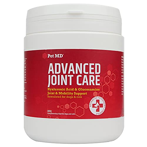 Advanced Joint Care for Dogs - High-Strength Hyaluronic Acid, MSM, and Glucosamine Chondroitin - Joint, Mobility Support, and Arthritis Pain Relief - Formulated
