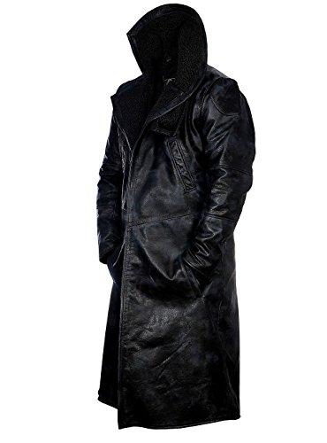 SKYSELLER Ryan Gosling Blade Runner 2049 - Chaqueta de piel auténtica