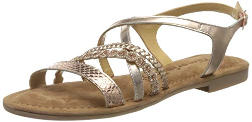 Tamaris Damen 1-1-28146-24 Riemchensandalen, Gold (Copper 901), 40 EU