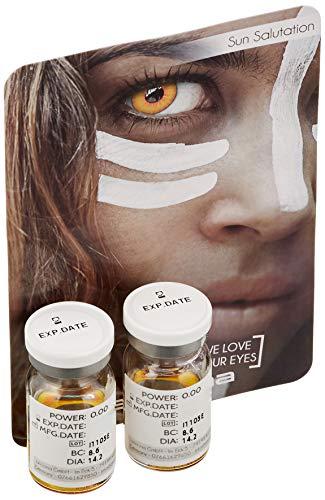 aricona Kontaktlinsen Farblinsen farbige Kontaktlinsen Halloween Jahreslinsen zum Vampir Kostüm