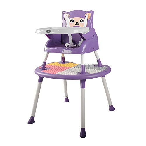 Lowest Price! MMPY Baby Highchair Infant High Chair Dining Chairs Tray Table Chair Convertible 4 in ...
