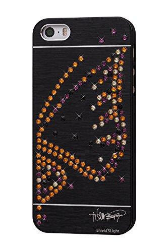 iShield Funda ligera con cristales de Swarovski para iPhone SE(1)/5S/5