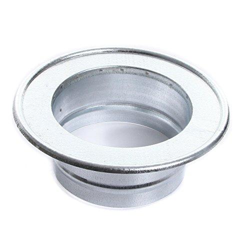 Rosette Wandrosette Kaminlochkapsel für Ofenrohre Kamin Blende Schornstein 120mm (120mm) von rg-vertrieb