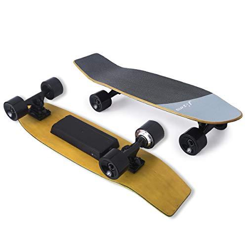 "Jizmo H2S 28"" Electric Skateboard 12mph Top Speed 6 Miles Range, Portable Electric Skateboard for..."