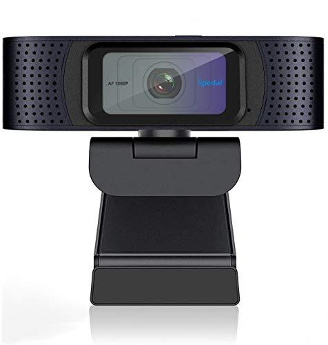 AutoFocus Webcam with Privacy Cover, HD 1080p...