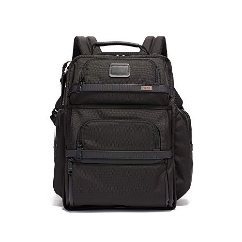 TUMI - Alpha 3 Brief Pack - 15 Inch Computer Backpack for Men and Women - Black