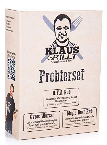 Rub Probier Set von Klaus grillt