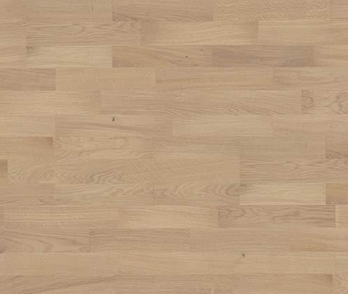 HORI® Parkett 300 Eiche weiß Basic Schiffsboden 3-Stab matt versiegelt I für 21,58 €/m²