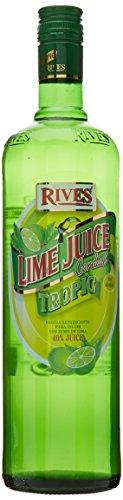 Rives Lime Juice Tropic Zumo de Lima para Diluir, 1L