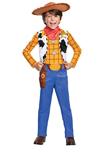 Disney Toy Story Toddler Woody Classic Costume Size 7/8