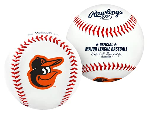 Pelota de baseball con logos de equipos de la MLB, Blanco
