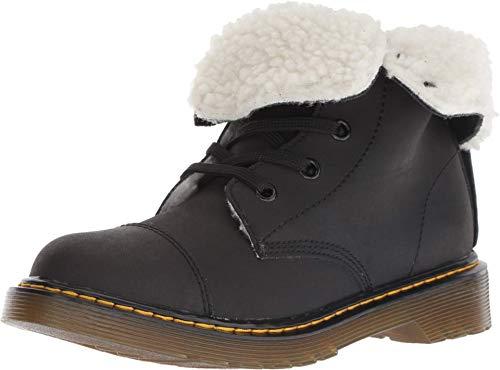 Dr.Martens Youth Aimilita Mohawk Suede Black Stiefel 38.5 EU