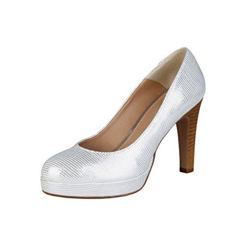 Versace V 1969 Melodie_Silver Damenschuhe Pumps, High Heels, Silber, EU 37-41 (EUR 37)