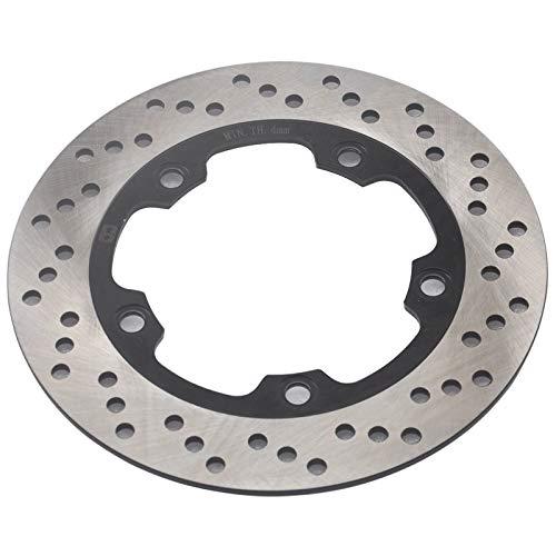 ZMMWDE Rotor de Disco de Freno Trasero de Motocicleta,para Suzuki Bandit GSF650 GSF650S 2007-2012 GSF650A 2005-2012 GSF650SA 2005-2015 GSR600 06-10