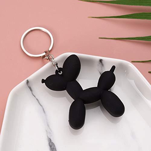 Llavero con diseño de globo de dibujos animados creativos para perros y mujeres, para parejas de hombres y mujeres, colgante al por mayor (color: 1)