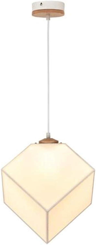 Lustre lampe de salon créative salle à hommeger personnalisé lustre moderne lampe minimaliste tissu chambre lampe restaurant lustre lampe de style nordique
