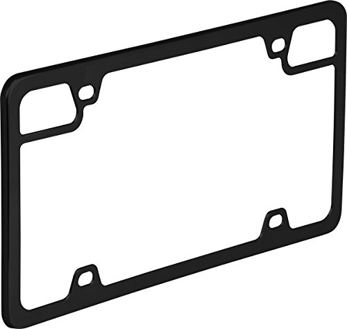Bell Automotive 22-1-46716-8 Universal Black Tag Defense License Plate...