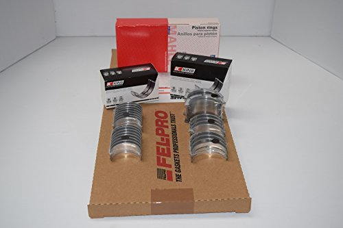 Ford Mustang 302 5.0 HO Engine Rering Kit 1986 87 88 89 gaskets bearings rings (All STD Sizes)