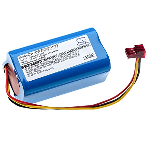 vhbw Batterie Compatible avec Lazer Runner Pistolet Laser (5200mAh, 7,4V, Li-ION)