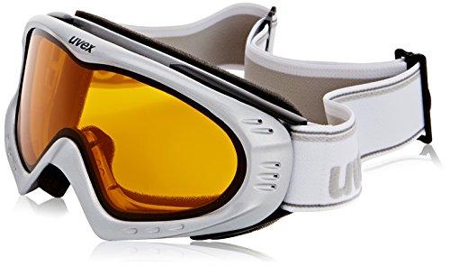 Uvex F 2 Skibrille, Silver metallic, S/M/L