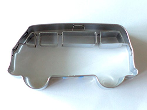 Birkmann 1010697310 Ausstechform Bulli, Kunststoff, Grau, 5 x 3 x 2 cm
