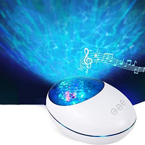 Soglen Proyector de estrella proyector con luz LED de nebulosa nube, proyector de luz nocturna con control remoto para niños, bebé, adultos, dormitorio, fiesta, cine en casa, color blanco