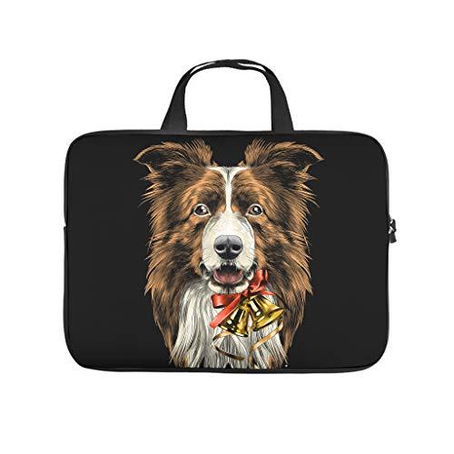 Dog Animal Laptop Case Sleeve Bag Water Resistant for for Men Women Boys Girls White 17 Zoll
