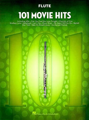 101 Movie Hits For Flute: Noten, Sammelband für Flöte
