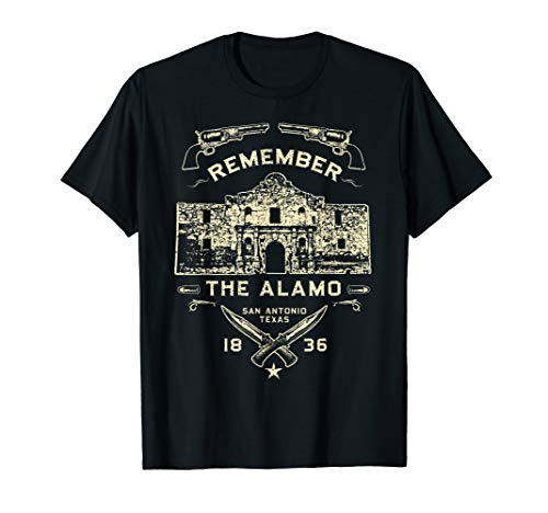Texas Remember The Alamo San Antonio Pride design T-Shirt