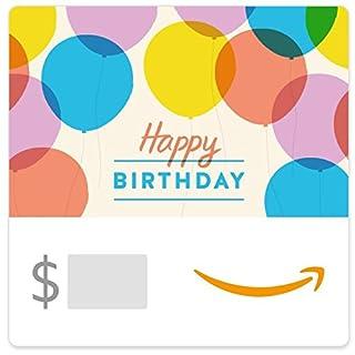 Amazon eGift Card - Happy Birthday Balloons (B01FIS88SY)   Amazon price tracker / tracking, Amazon price history charts, Amazon price watches, Amazon price drop alerts