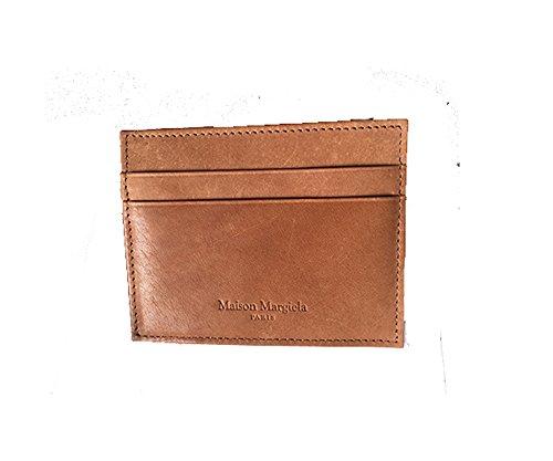 Maison Martin Margiela Credit Card mini-Wallet (Brown)