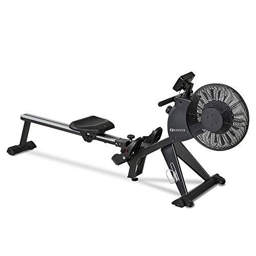MARNUR Magnetic & Air Rowing Machine, 16-Level Tension...