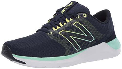 New Balance Women's Cush+ 715 V4 Cross Trainer, Natural Indigo/Neo Mint/White, 9.5 M US