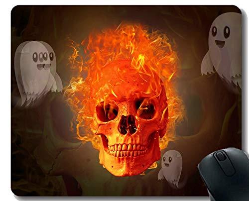 Yanteng-Mausunterlage Kundenspezifisches Design, Gefahrgeist fürchten abstrakte Gaming-Mausunterlage