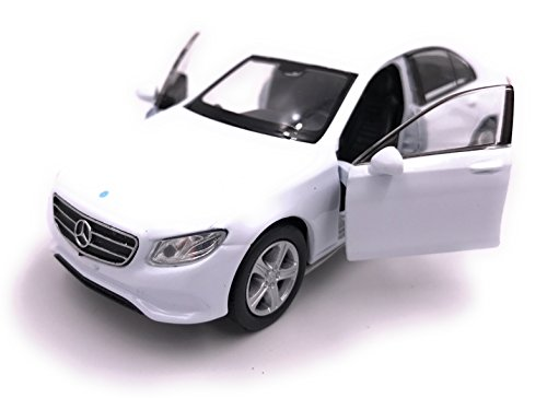 Welly Mercedes Benz E Class Model Car Auto Producto con Licencia 1: 34-1: 39 Blanco