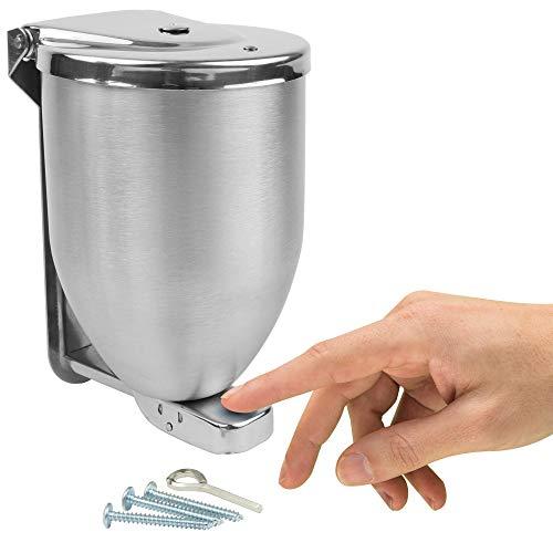 Vollum Powder-Soap Dispenser - 32 Ounce Stainless Steel Bathroom Soap...
