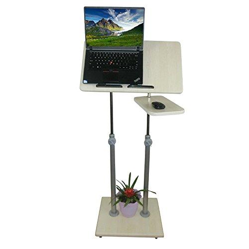 Jia He Lapdesks Stand-up-Computer Schreibtisch - Schreibtisch Bürotisch Kinder Blick auf den Schreibtisch Mobiler Schreibtisch Einfacher und moderner Steh-Schreibtisch Fauler Schreibtisch Release The