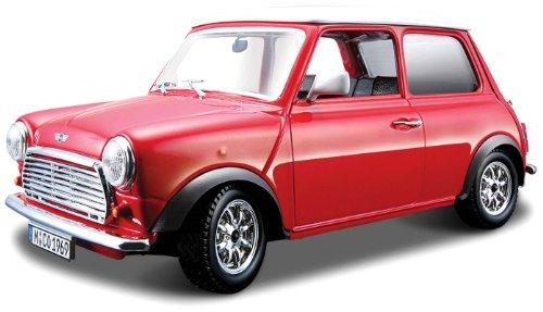 Bburago 43206 - Mini Cooper (1969), 1:32 (farblich sortiert)