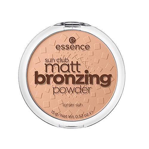 ESSENCE Sun Club Matt Bronzing polvos bronceadores 01 Natural