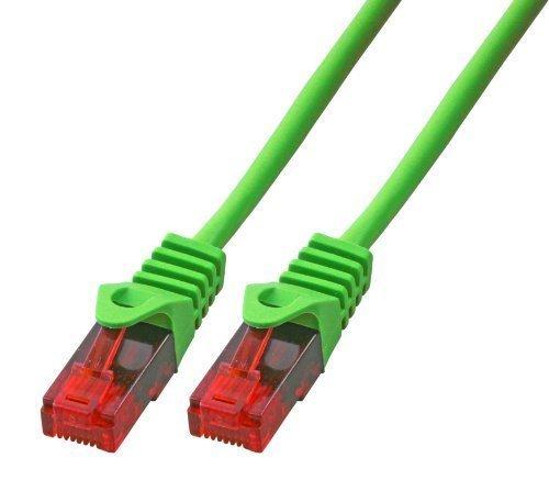 BIGtec 3m Gigabit Ethernet LAN Kabel Netzwerkkabel grün