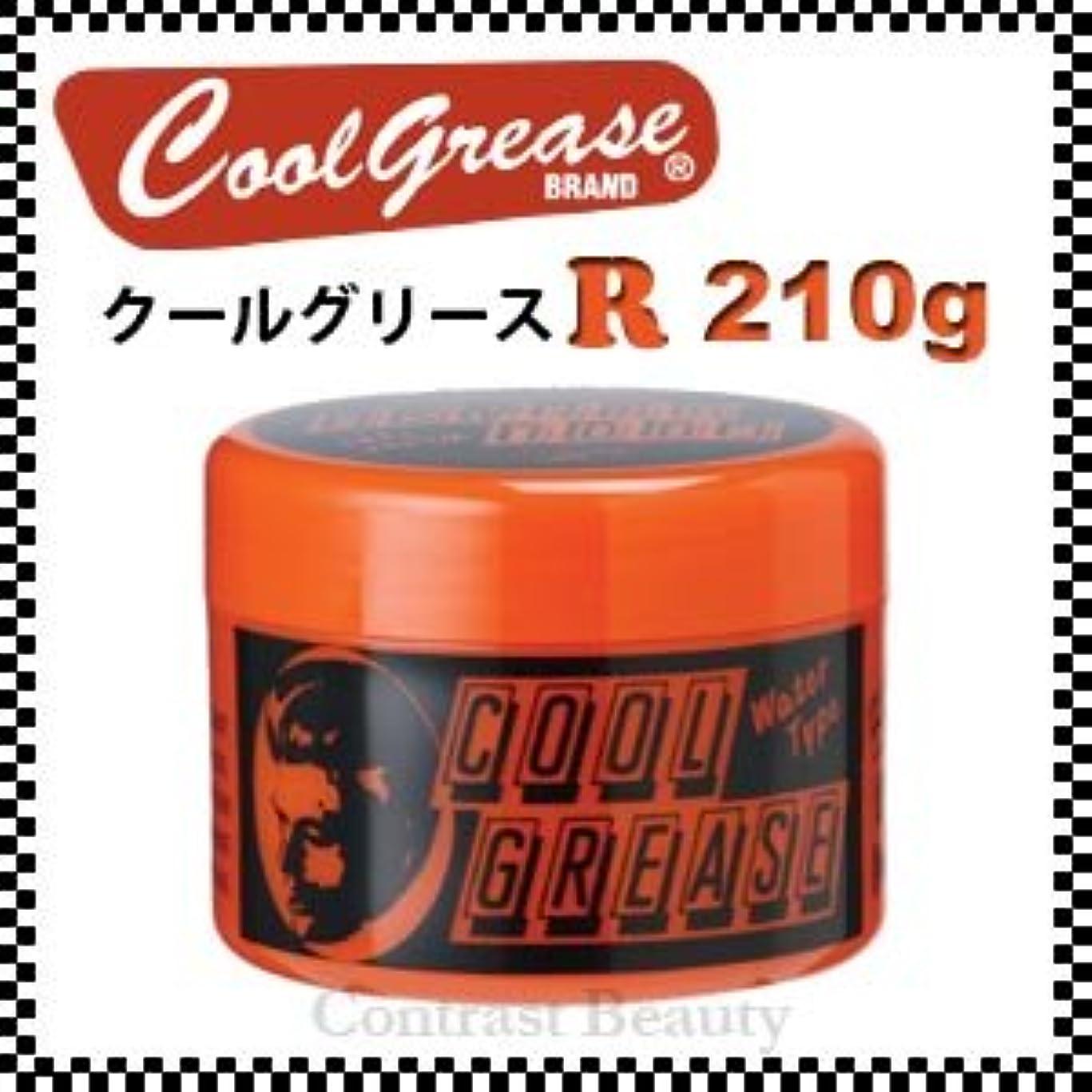 弁護明日無意味【X4個セット】 阪本高生堂 クールグリース R 210g