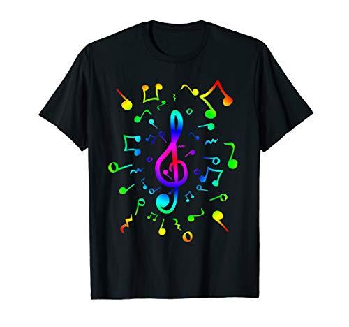 Musikalische Symbole I Für Musikliebhaber T-Shirt