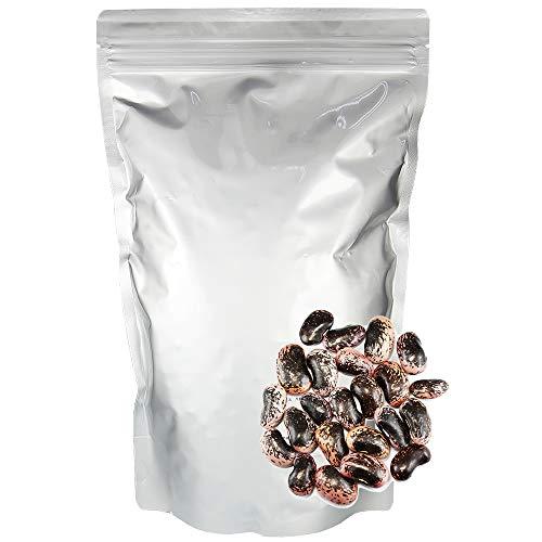 紫花豆特大 (業務用1Kg) 国産 高原花豆 大粒 むらさきはなまめ 乾物豆類 乾燥豆 おせち料理などの煮豆、甘煮、甘納豆などお正月お豆に